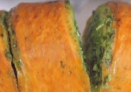 Чесночный хлеб и торчинни