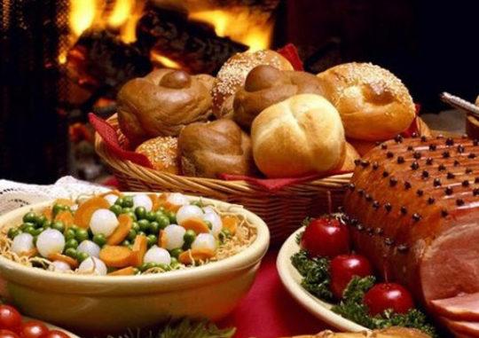 Рождественская еда на вынос
