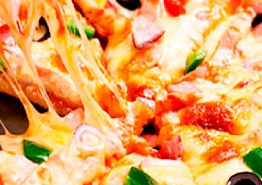 Пицца в ресторане «Алекандровский»