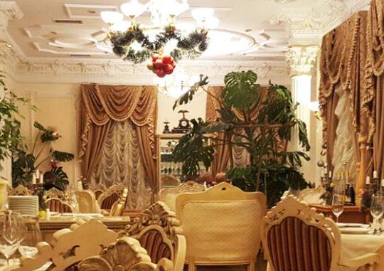 Вкусная еда в ресторане «Александровский»
