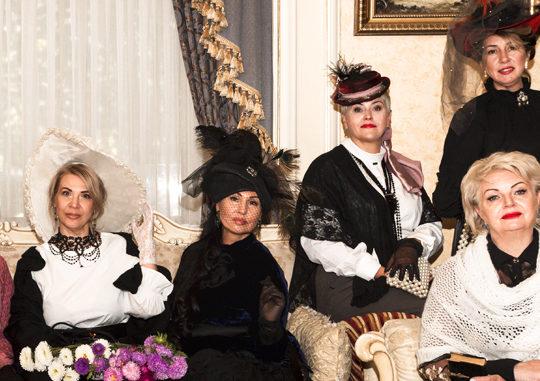 Фотосессия моделей Lady Forever Club в «Александровском»