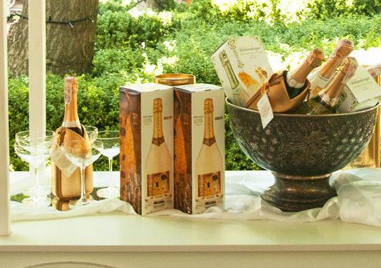 Шампанское в ресторане «Александровский»