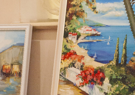 Выставка живописи «Души моей мечтанья!»